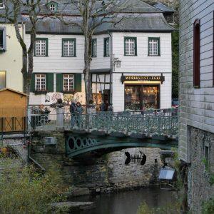 Rur, Brücke, Eifel des Venedigs, Werkkunstecke, Monschau